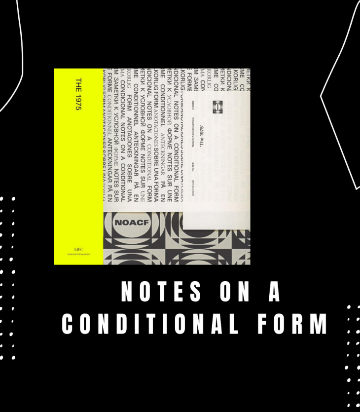 Notes on a Conditional Form Album Review by Maria Silvestri