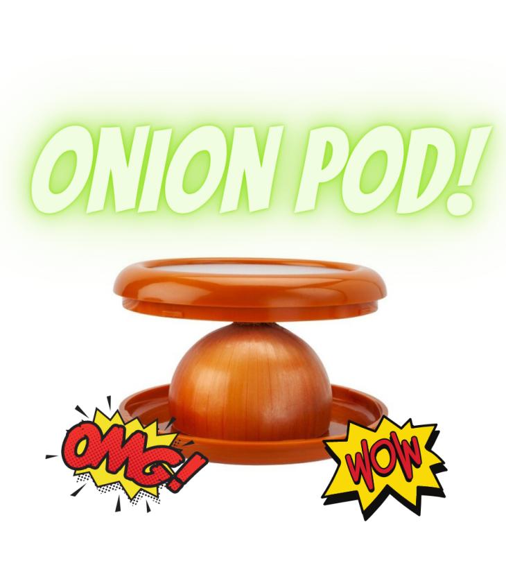 IUYNIOTM: Onion Pod by Maria Silvestri